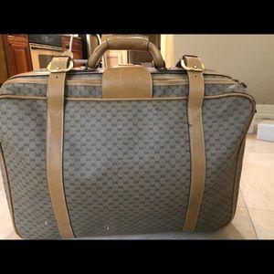 Vintage Gucci suitcase